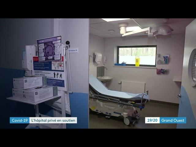 Coronavirus. L'hôpital privé de St-Grégoire (35) se réorganise