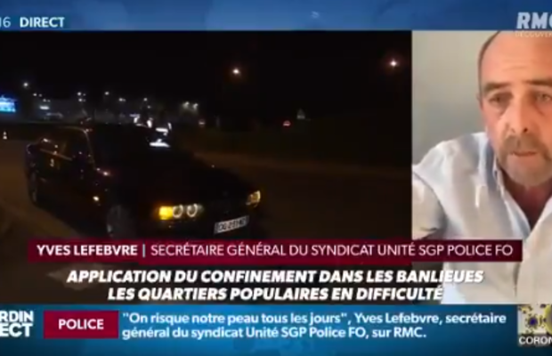 Couvre feu ? Pour Yves Lefebvre (SGP Police) : « On aura besoin de l'armée »