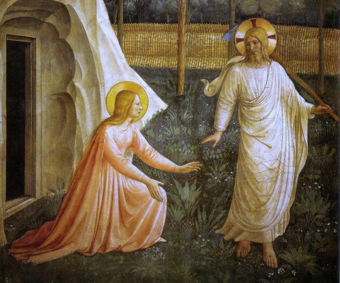 Fra Angelico, Noli, me tangere, fresque du couvent San Marco, Florence, Italie