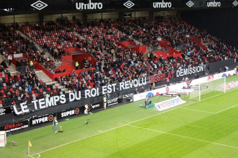 L'En Avant Guingamp en crise, le foot français au bord du gouffre