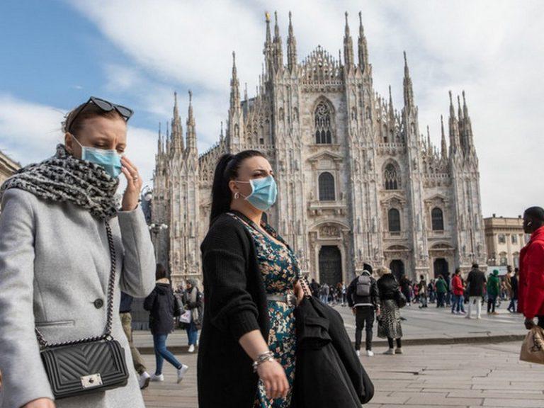 Coronavirus.  Les Italiens face à l'épidémie