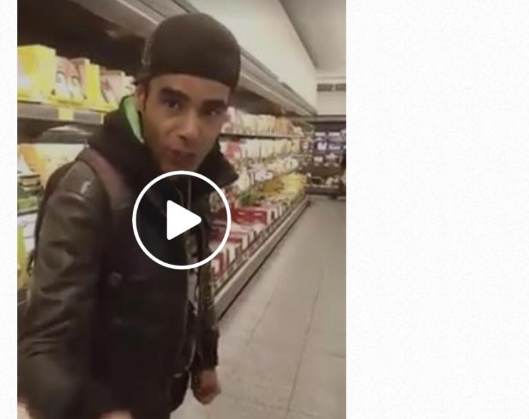Fribourg (All) : La vidéo d'un migrant tunisien volant et léchant les produits dans un supermarché fait scandale