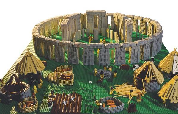 Comme des Lego. Retour sur la construction de Stonehenge