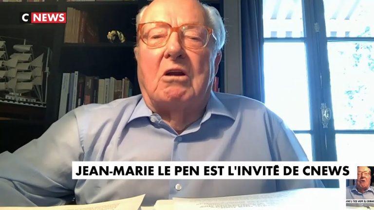 Jean-Marie Le Pen sur Macron et sa «guerre» : « Il parle de choses qu'il ne connait pas »
