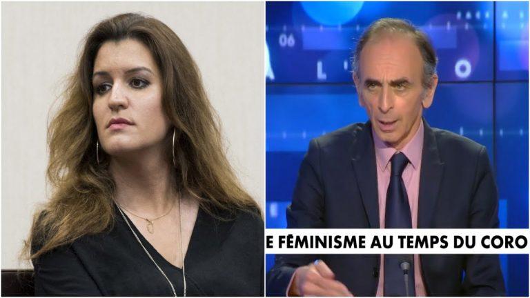 Eric Zemmour : « Marlène Schiappa est déchainée »