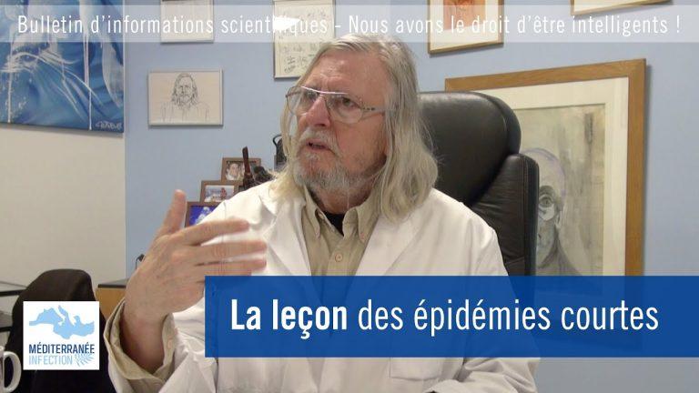 Didier Raoult : La leçon des épidémies courtes