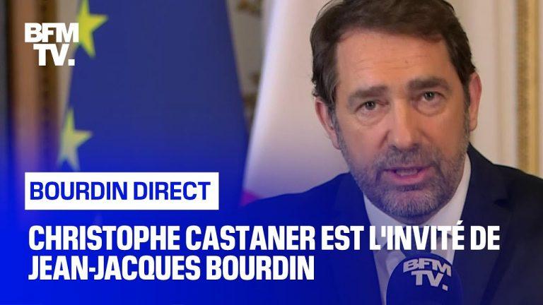 Christophe Castaner face à Jean-Jacques Bourdin