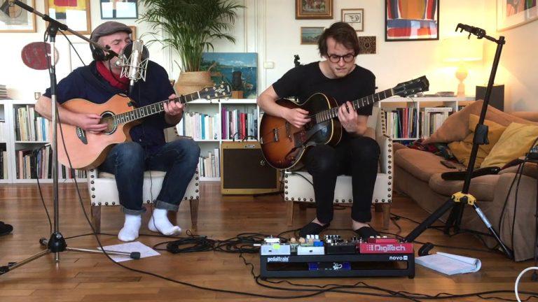 Concert de Red Cardell : Riou père & fils live en mode confinement à Locquirec