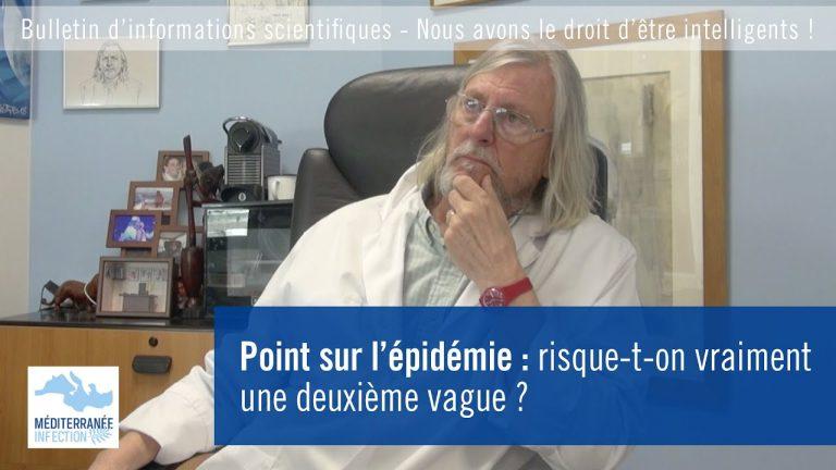 Point sur l'épidémie avec le Professeur Raoult : risque-t-on vraiment une deuxième vague ?