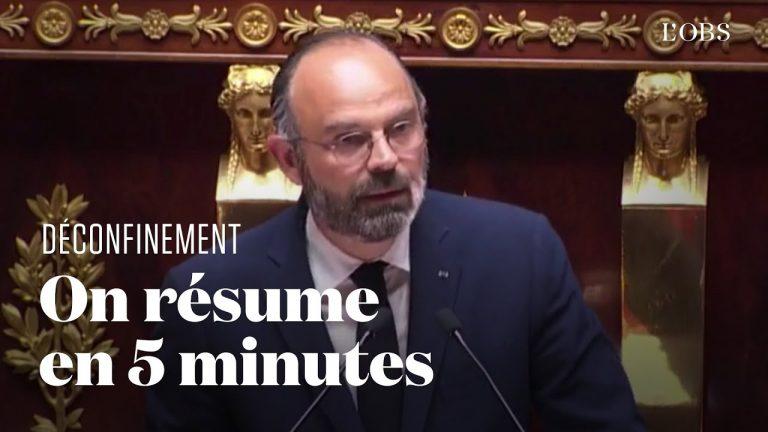 12 mesures à retenir du discours d'Edouard Philippe sur le déconfinement