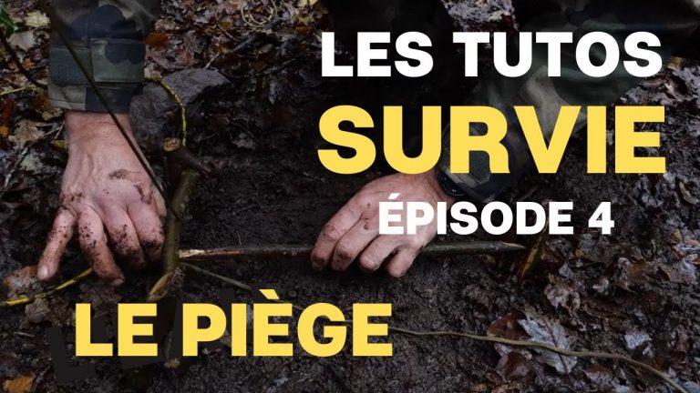 L'adjudant-chef Gatien vous dit tout sur la survie : épisode 4 «le piège»