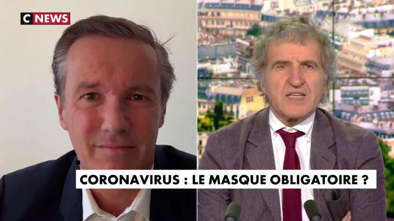 Nicolas Dupont-Aignan sur le coronavirus : « Tout le monde doit porter un masque ! »