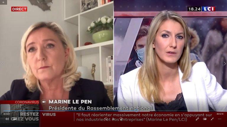 Marine Le Pen : « J'ai prévenu Édouard Philippe, Il doit agir maintenant »