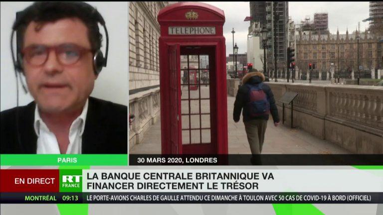 Covid-19 : « Le Royaume-Uni se passe des banques et des marchés financiers »