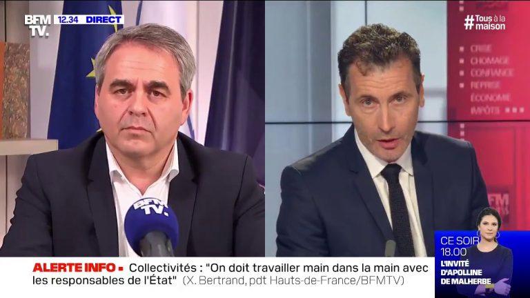 Travailler plus après le confinement. « On veut rendre fous les Français ? » s'interroge Xavier Bertrand