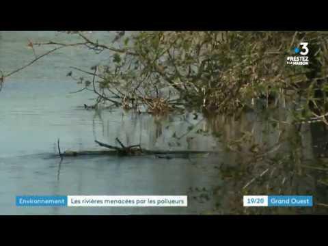 Confinement. Nos cours d'eau menacés en Bretagne