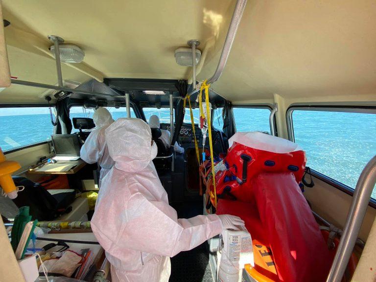 Coronavirus. Les Sauveteurs en Mer toujours mobilisés en mer…mais aussi à terre !