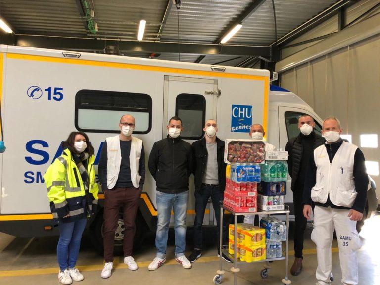 Football et Coronavirus. A Brest, Lorient, Guingamp, Rennes et Nantes, les cagnottes des Ultras pour le personnel soignants explosent