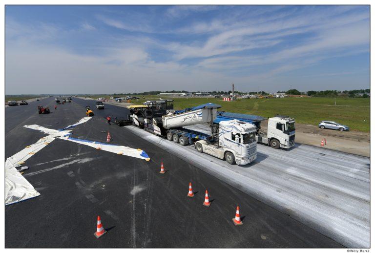 Réouverture de la piste principale de l'aéroport Rennes Bretagne