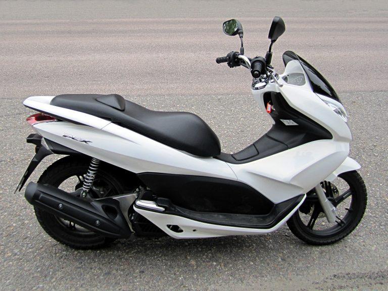 Le 125 PCX Honda, particulièrement prisé des voleurs