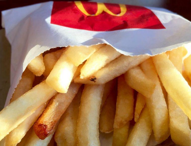 Alimentation. Les frites de chez McDonald's auraient un arrière-goût amer pour la santé