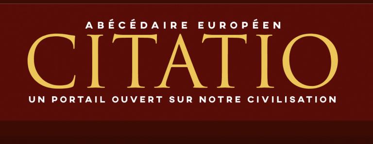L'institut Iliade lance Citatio, un portail ouvert sur notre civilisation