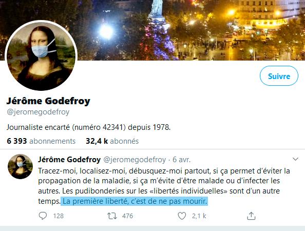 Twitter Jérôme Godefroy
