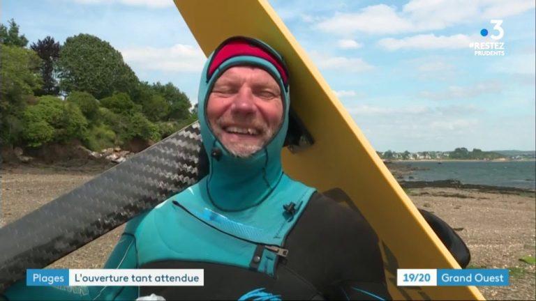 Déconfinement : réouverture d'une quarantaine de plages dans le Finistère