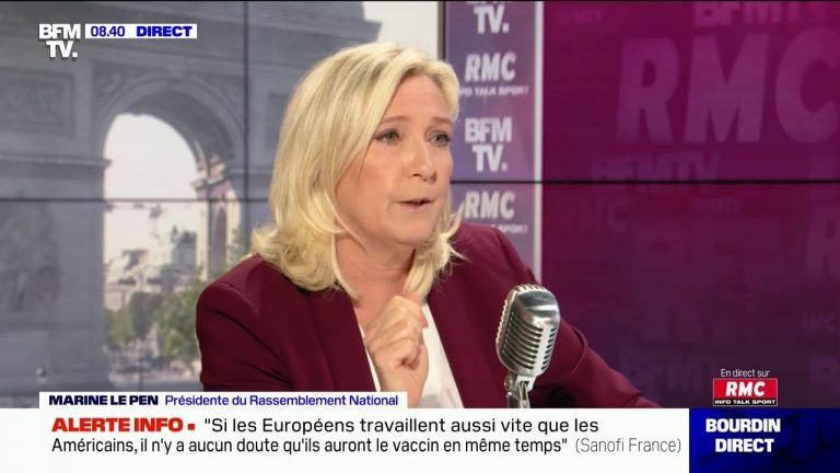 Marine Le Pen : « Les Français ont été mis en prison pendant 2 mois »