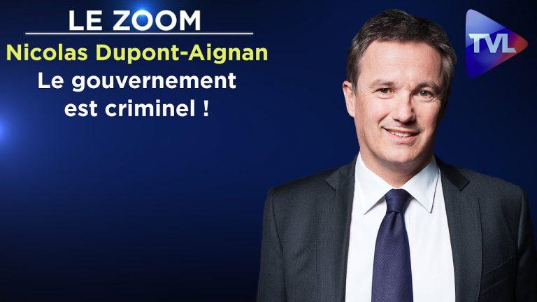 Nicolas Dupont-Aignan : « Le gouvernement est criminel ! »