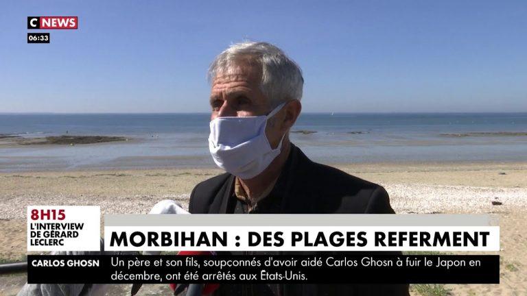 Etat policier en Morbihan : des plages referment