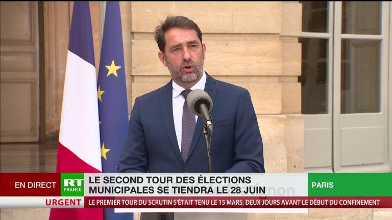 Edouard Philippe annonce le 28 juin comme date du second tour des municipales