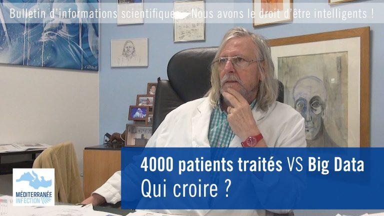 4000 patients traités face à Big Data : qui croire ? Le Professeur Raoult s'exprime après la sortie de l'étude The Lancet sur l'hydroxychloroquine