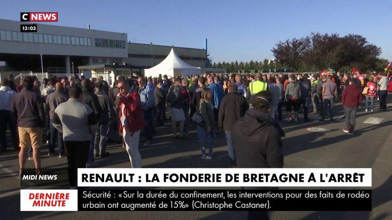 Renault. La fonderie de Bretagne (Caudan) à l'arrêt