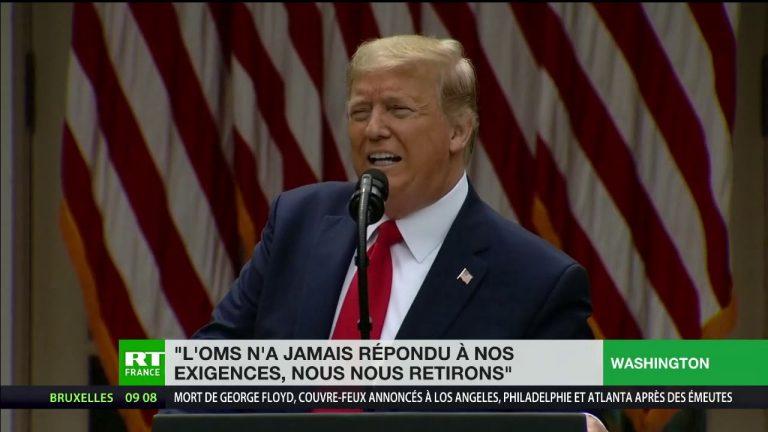 Donald Trump rompt les relations avec l'OMS