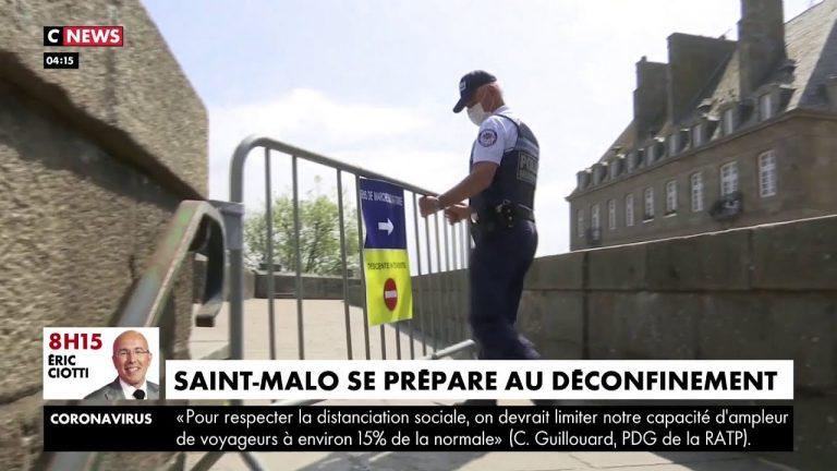 Déconfinement : à Saint-Malo, les remparts vont rouvrir