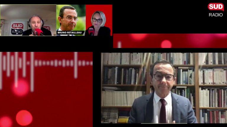 Bruno Retailleau (LR) : « Ce qui est sidérant, c'est l'idéologie macronienne de la frontière ! »