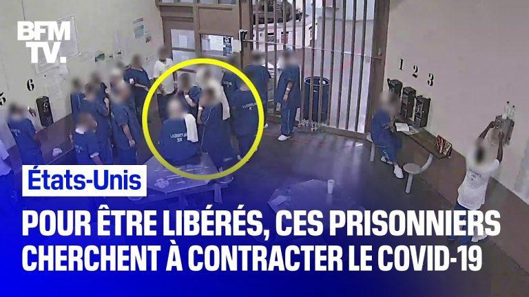 Pour être libérés, des prisonniers américains cherchent à contracter volontairement le coronavirus