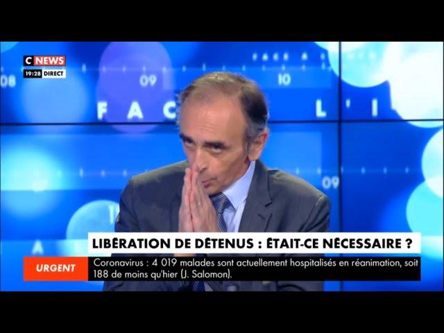 Eric Zemmour : « La criminalité a explosé en France »
