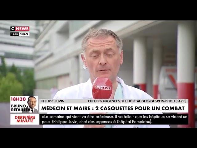 L'appel de Philippe Juvin au déconfinement
