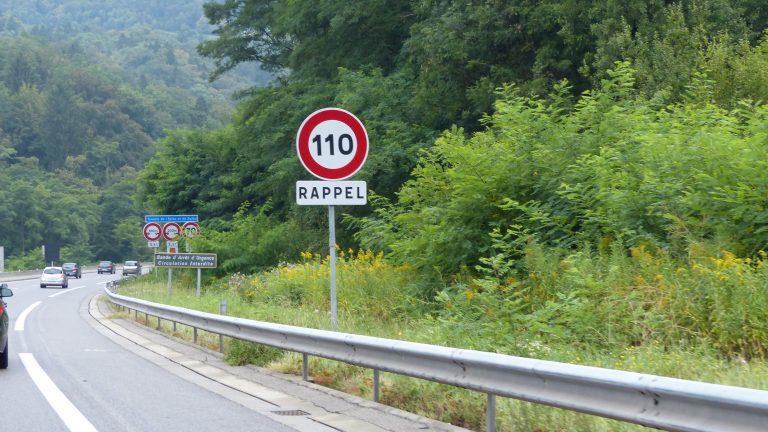 Une pétition contre l'abaissement de la vitesse à 110km/h sur les autoroutes