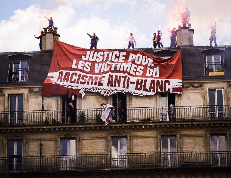 Johan Teissier (Génération Identitaire) : « Nous devions réagir car il était impensable que les Français se laissent insulter en plein Paris » [Interview]