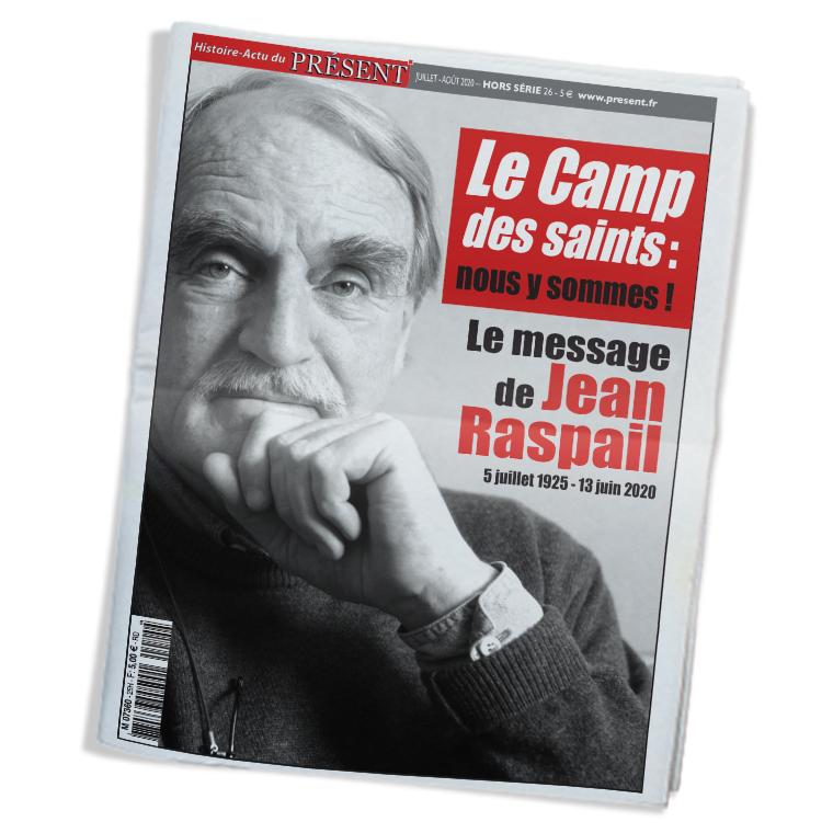 Présent sort un numéro hors-série hommage à Jean Raspail