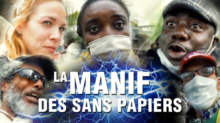 Manif des sans-papiers à Paris : « Un jour vous serez à genoux devant les Noirs »