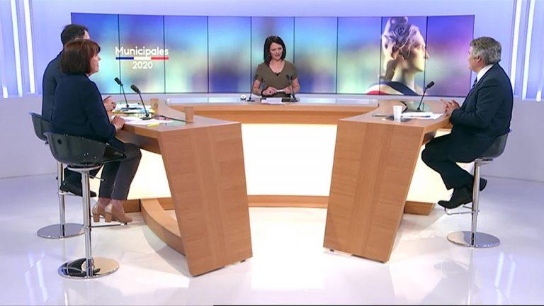 Municipales 2020 à La Baule : débat d'avant second tour entre F. Louvrier, J-Y. Gontier et A. Boyé