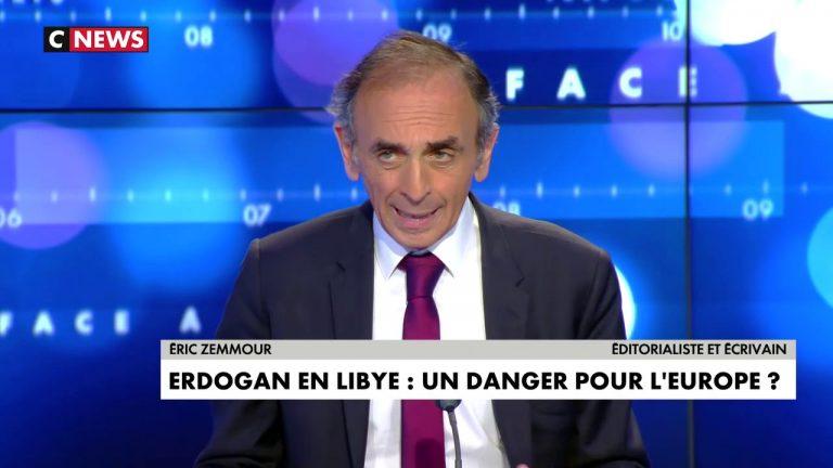 Eric Zemmour : « À court terme, Erdogan fait chanter l'Europe avec l'immigration, mais à moyen terme, il veut coloniser et islamiser toute l'Europe »