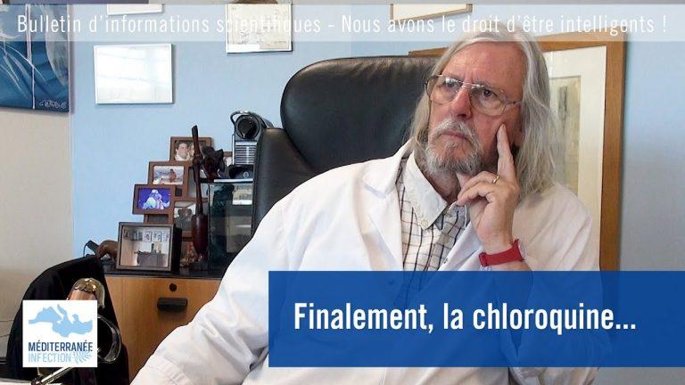Didier Raoult. Finalement, la chloroquine….