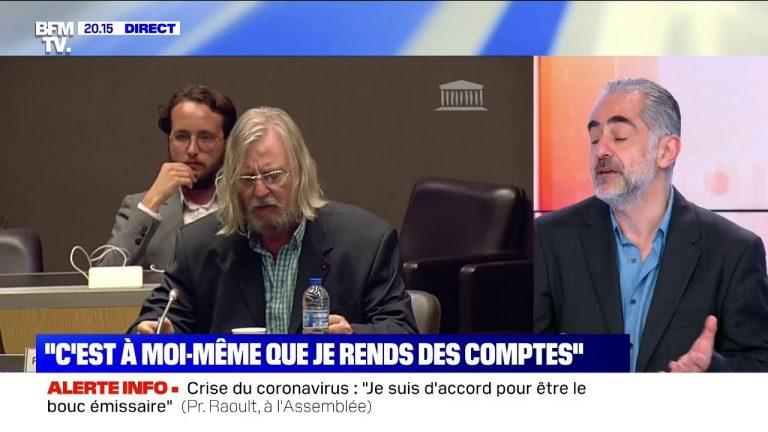 Revoir l'intégralité de l'audition de Didier Raoult devant la commission d'enquête parlementaire