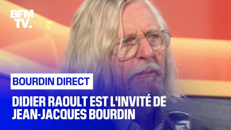 Didier Raoult remet en place Jean-Jacques Bourdin