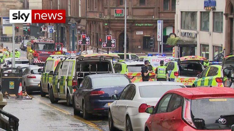 Attaque au couteau à Glasgow (Ecosse). Au moins trois morts